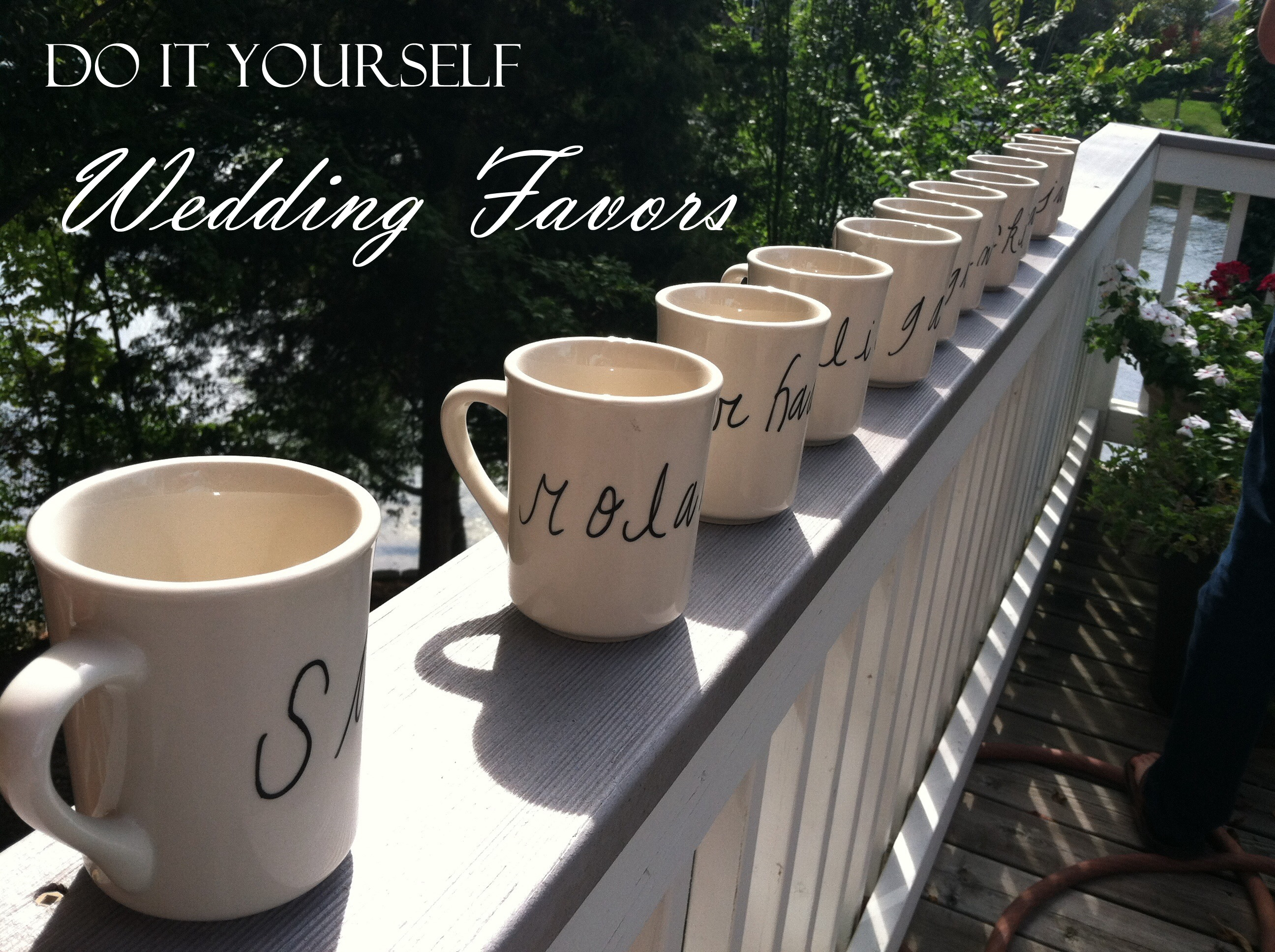 Diy wedding favors sharpie coffee mugs kaylee may coffee mugs sharpie coffee mugs solutioingenieria Choice Image